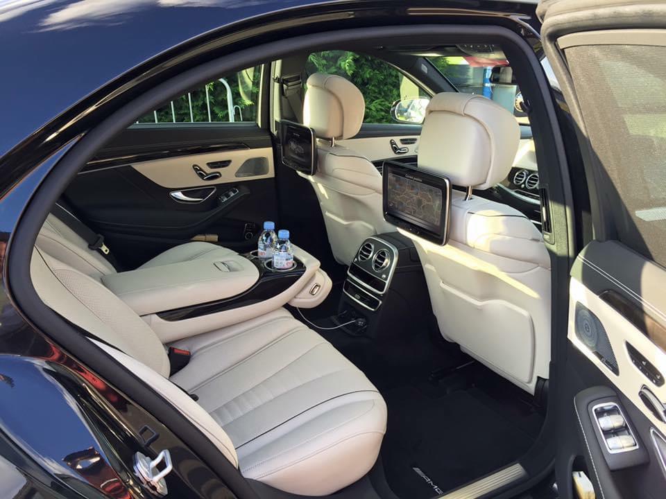 Mercedes S class chauffeur