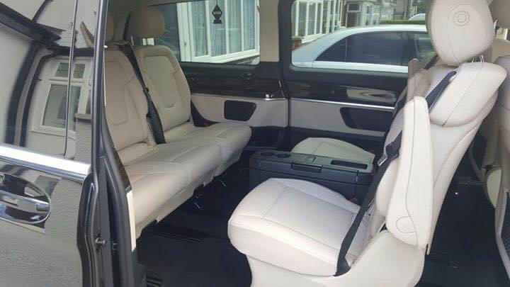 Mercedes Benz V class chauffeurs